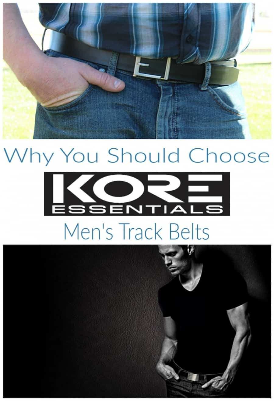 33f35761f KORE Essentials Mens Track Belts - Thrifty Nifty Mommy
