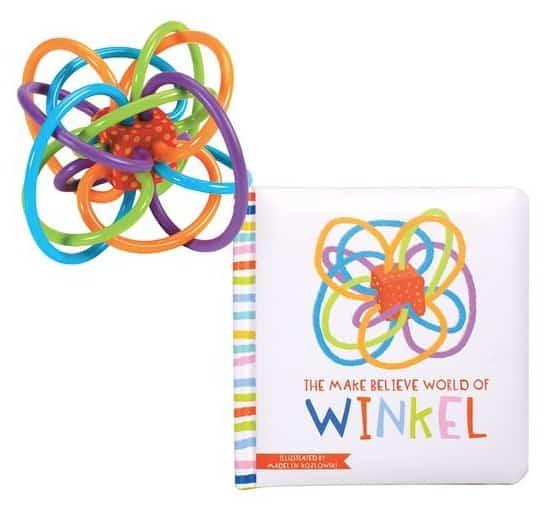 Manhattan Toy Company THE MAKE BELIEVE WORLD OF WINKEL BOARD BOOK + WINKEL