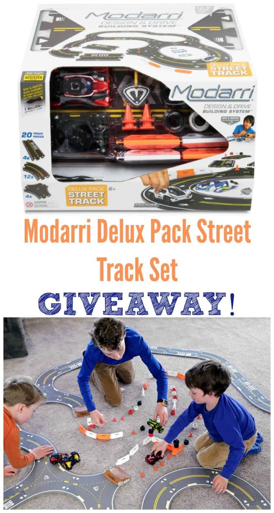 Modarri Delux Pack Street Track Set Giveaway