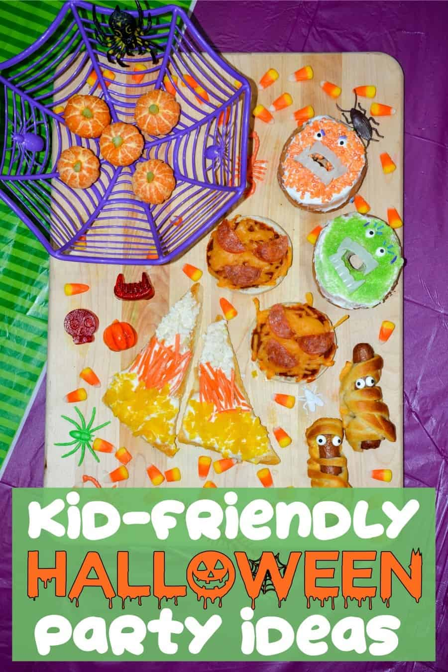 kid friendly Halloween party ideas