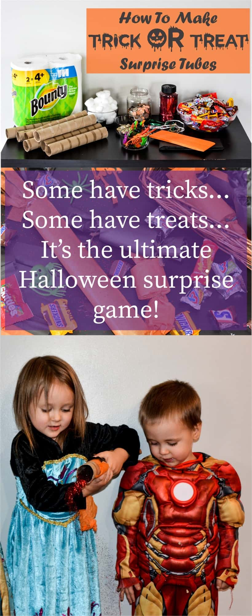 Trick OR Treat Surprise Tubes