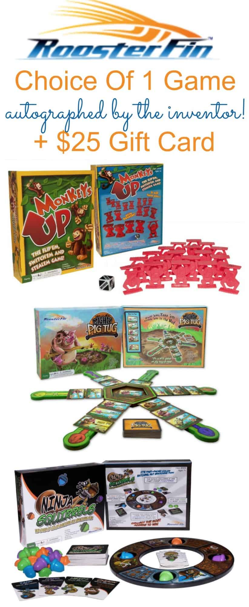 RoosterFin Games Giveaway