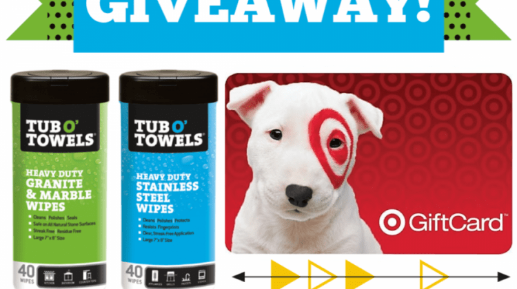 Win a Tub O' Towels Prize Package