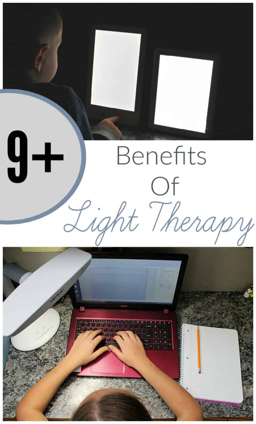 Benefits Of Light Therapy {+ Verilux HappyLight Review}