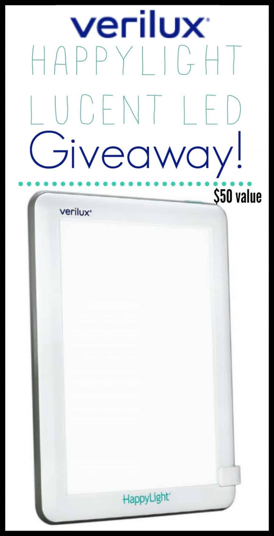 Benefits Of Light Therapy {+ Verilux HappyLight Review} + Giveaway