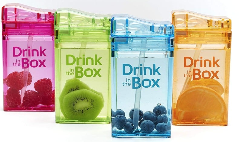 Drink in the Box Eco-Friendly Reusable Drink and Juice Box Container by Precidio Design