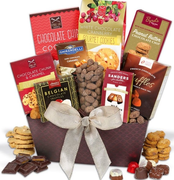 Gourmet Gift Boxes Chocolate Basket