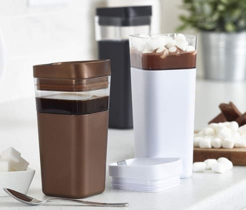Kafe in the Box, Splashproof and Ecofriendly Reusable Coffee MugTravel Mug by Precidio Design