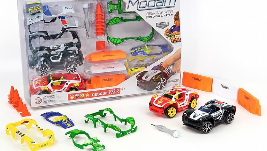 Modarri Cars Delux Rescue Pack
