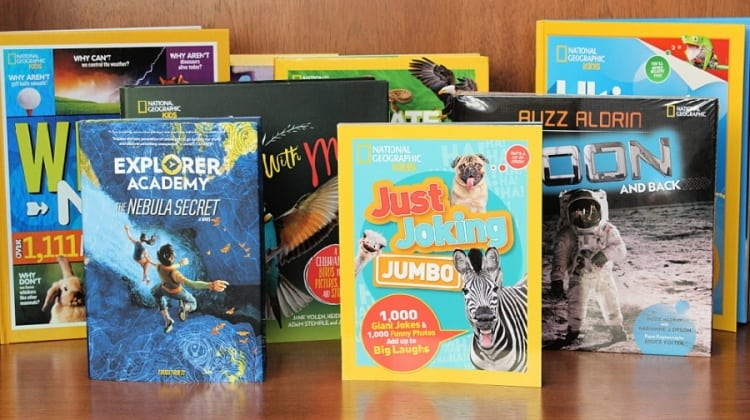 National Geographic Kids Books Features EIGHT New Titles! {+ Giveaway!}