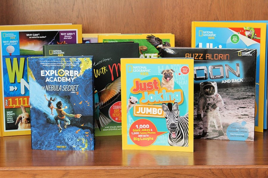 National Geographic Kids Books Features EIGHT New Titles!