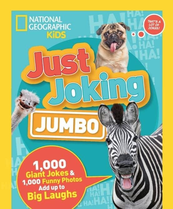 National Geographic Kids Books Just Joking Jumbo