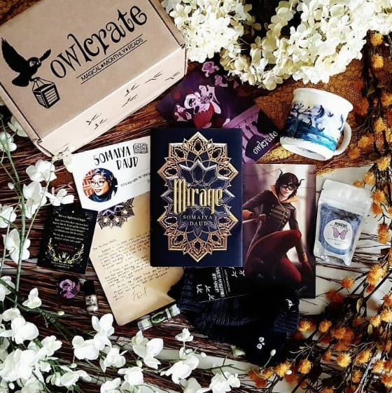 OwlCrate Book Subscription Box