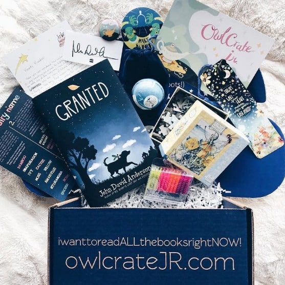 OwlCrate Jr. Book Subscription Box