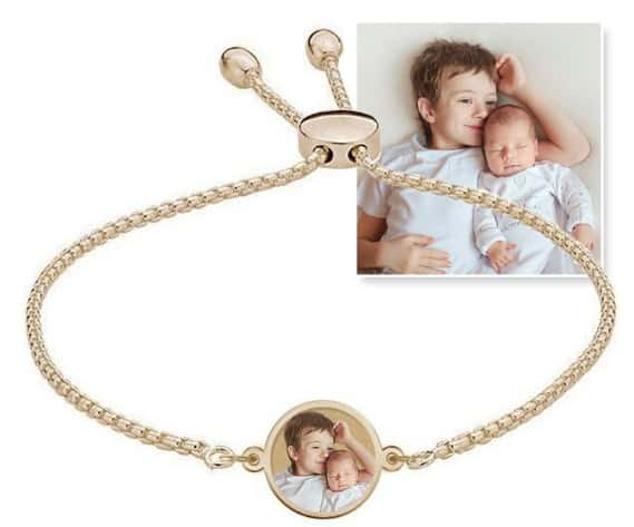 PicturesOnGold.com Women's Engraved Custom Photo Bracelet Giveaway