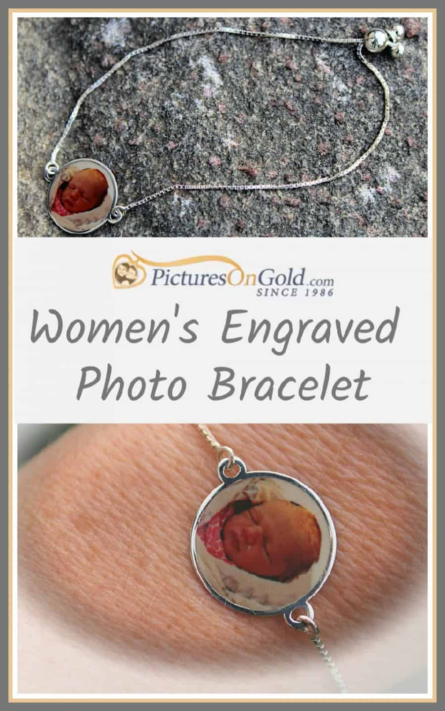 PicturesOnGold.com Women's Engraved Photo Bracelet Review