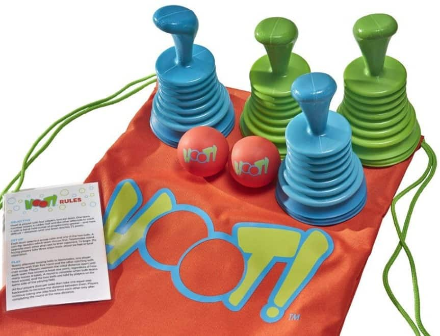 _SeaTurtle Sports HOOT! Scoop Ball Toss Game Set