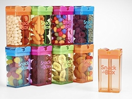 Snack in the Box Eco-Friendly Reusable Snack Box Container by Precidio Design