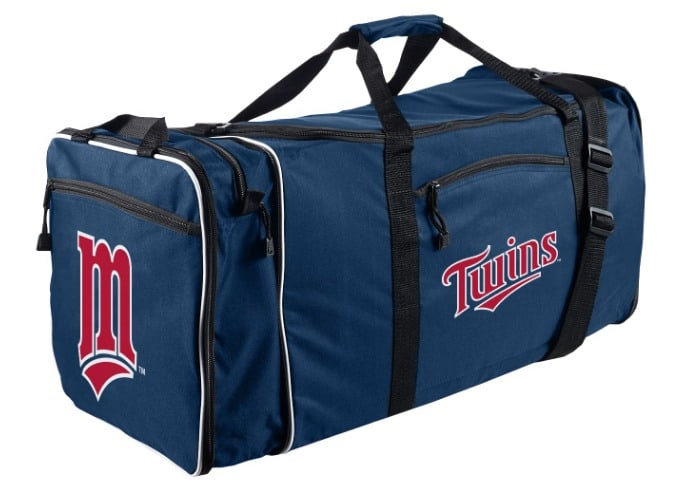 The Northwest Minnesota Twins MLB Steal Duffel