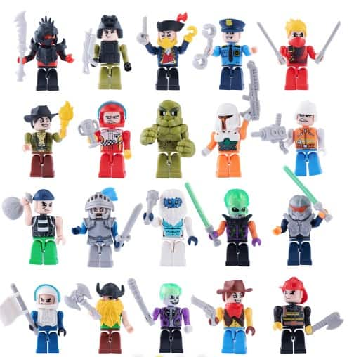 ZURU Toys MAX BUILD MORE MINI FIGURE SET
