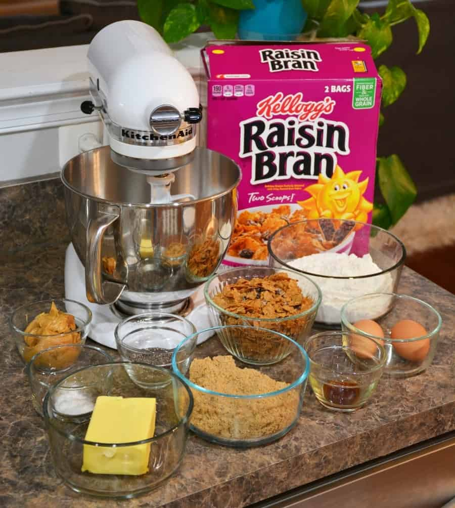 Raisin Bran Breakfast Cookies