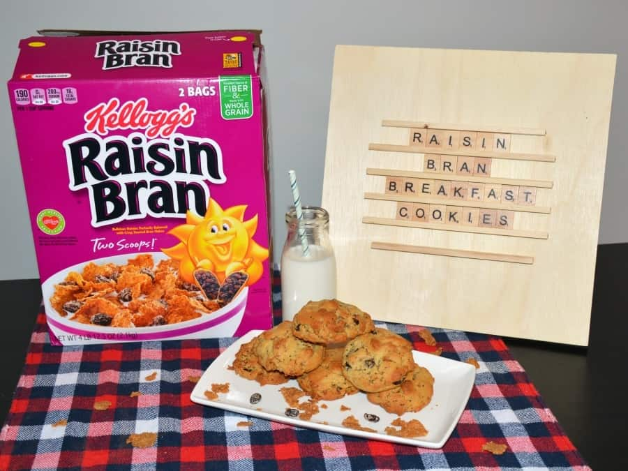 Raisin Bran Breakfast Cookies Recipe