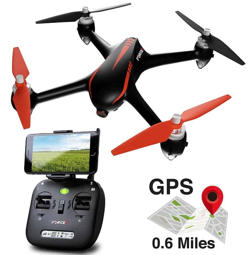 Force1 Best Drones For Adults And Kids - Force1 RC Drones - F200W Shadow