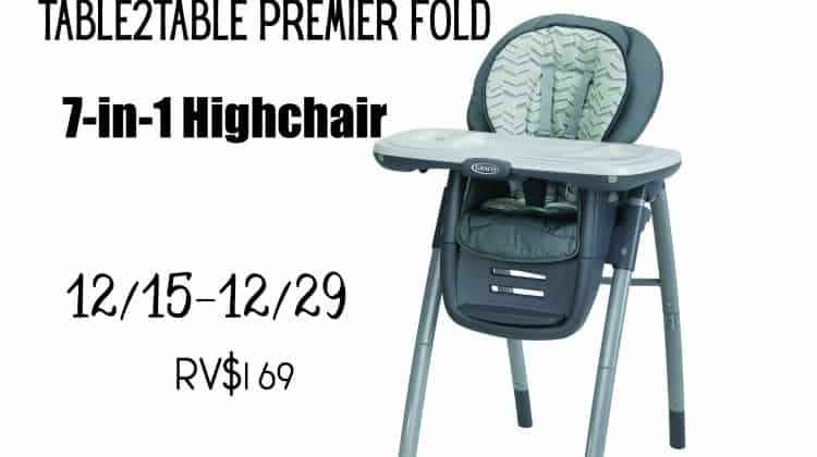 Win a Graco Table2Table Highchair, ARV $169!