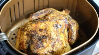 Air Fryer Whole Chicken Recipe