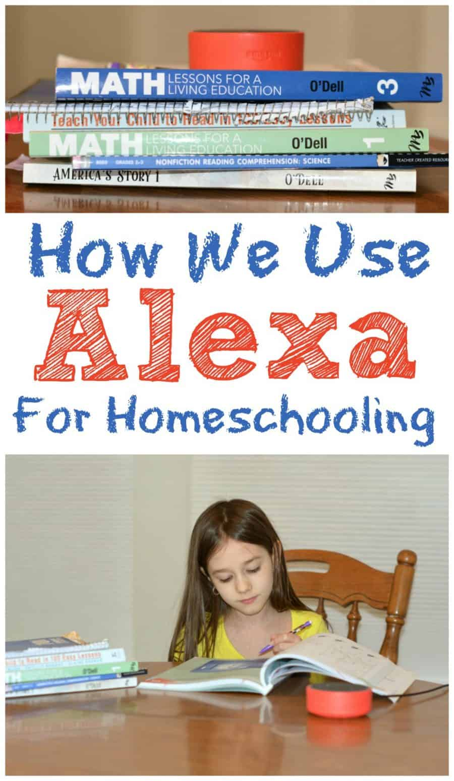 how we use Alexa for homeschooling