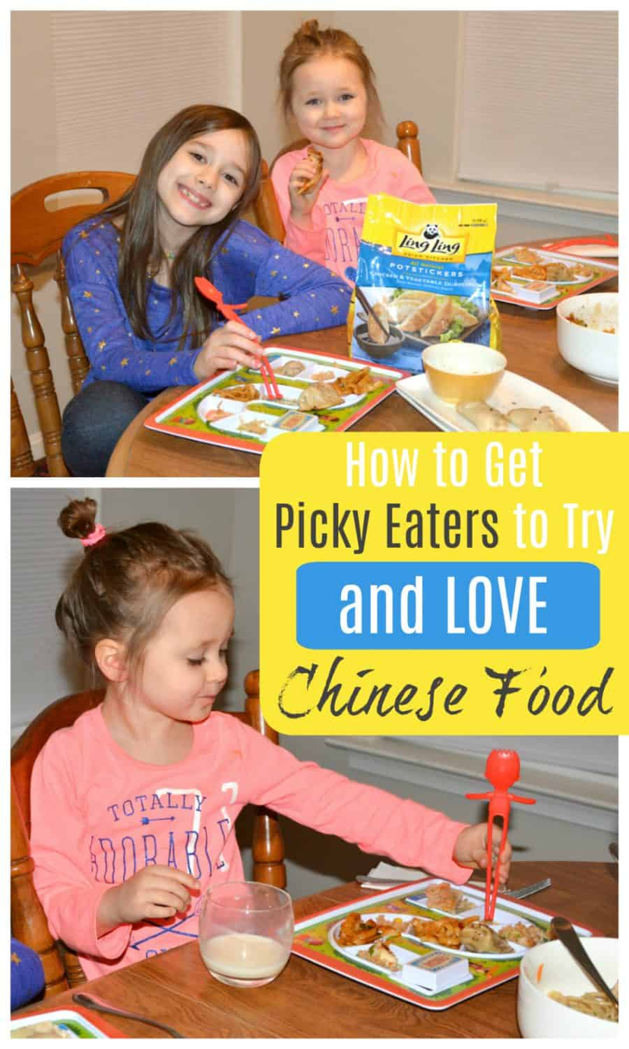 How to get picky eaters to try Chinese Food