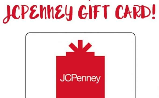 Win a $100 JCPenney Gift Card!