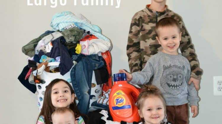 Laundry For a Large Family