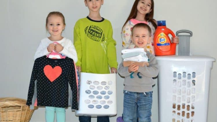 Age-Appropriate Laundry Chores For Kids