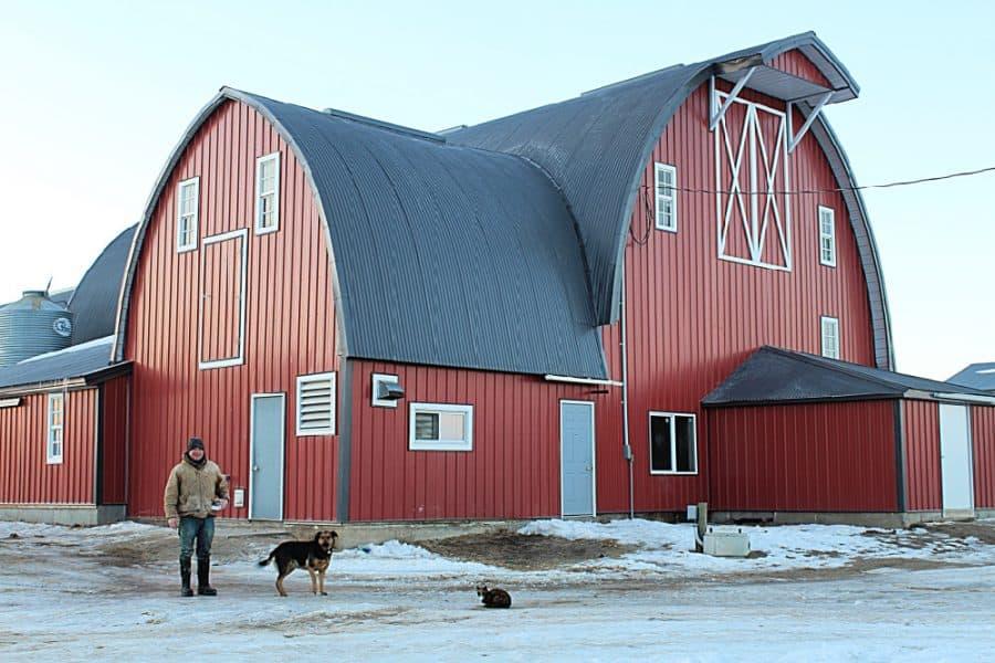 Winter Life On A Minnesota Dairy Farm