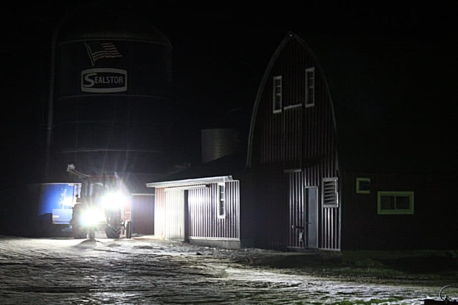 Winter Life On A Minnesota Dairy Farm