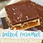 Salted Caramel Billionaire Bars
