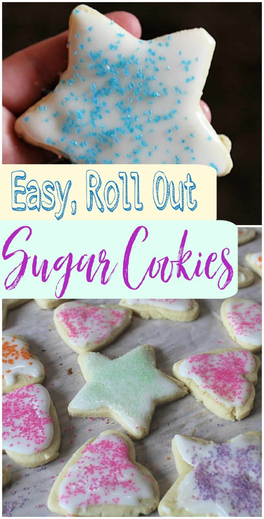 BEST CUT OUT SUGAR COOKIE RECIPE EVER!