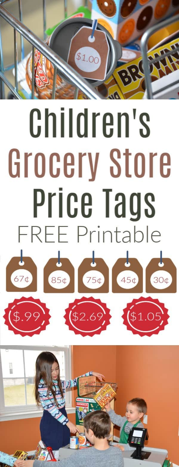 Free Grocery Store Price Tags Printable
