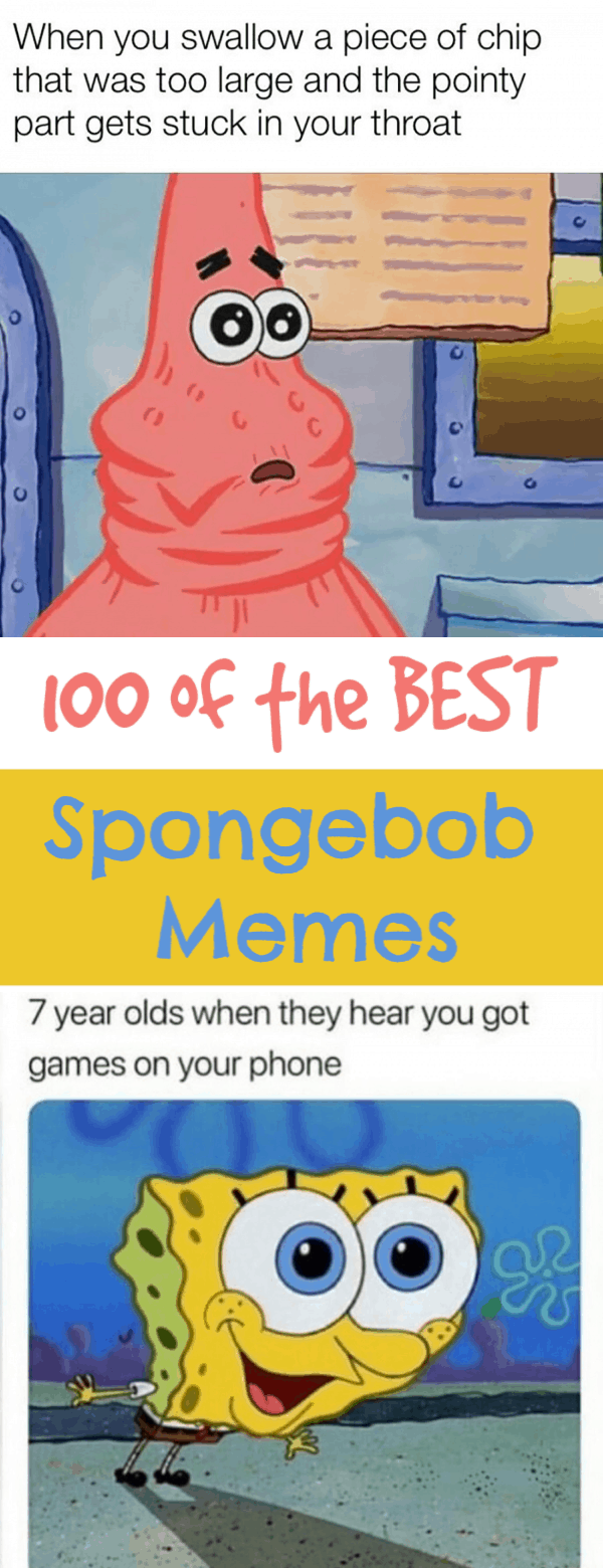 The BIGGEST Harvest of Spongebob Memes - Thrifty Nifty Mommy