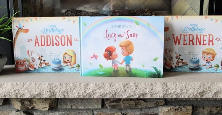 5 Reasons Personalized Books Make A Great Gift