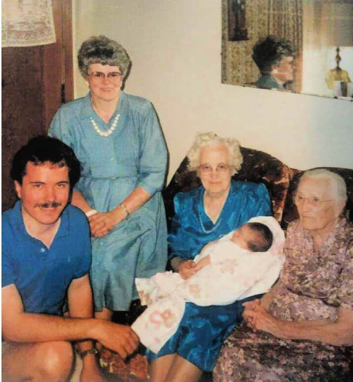 Five generation photo