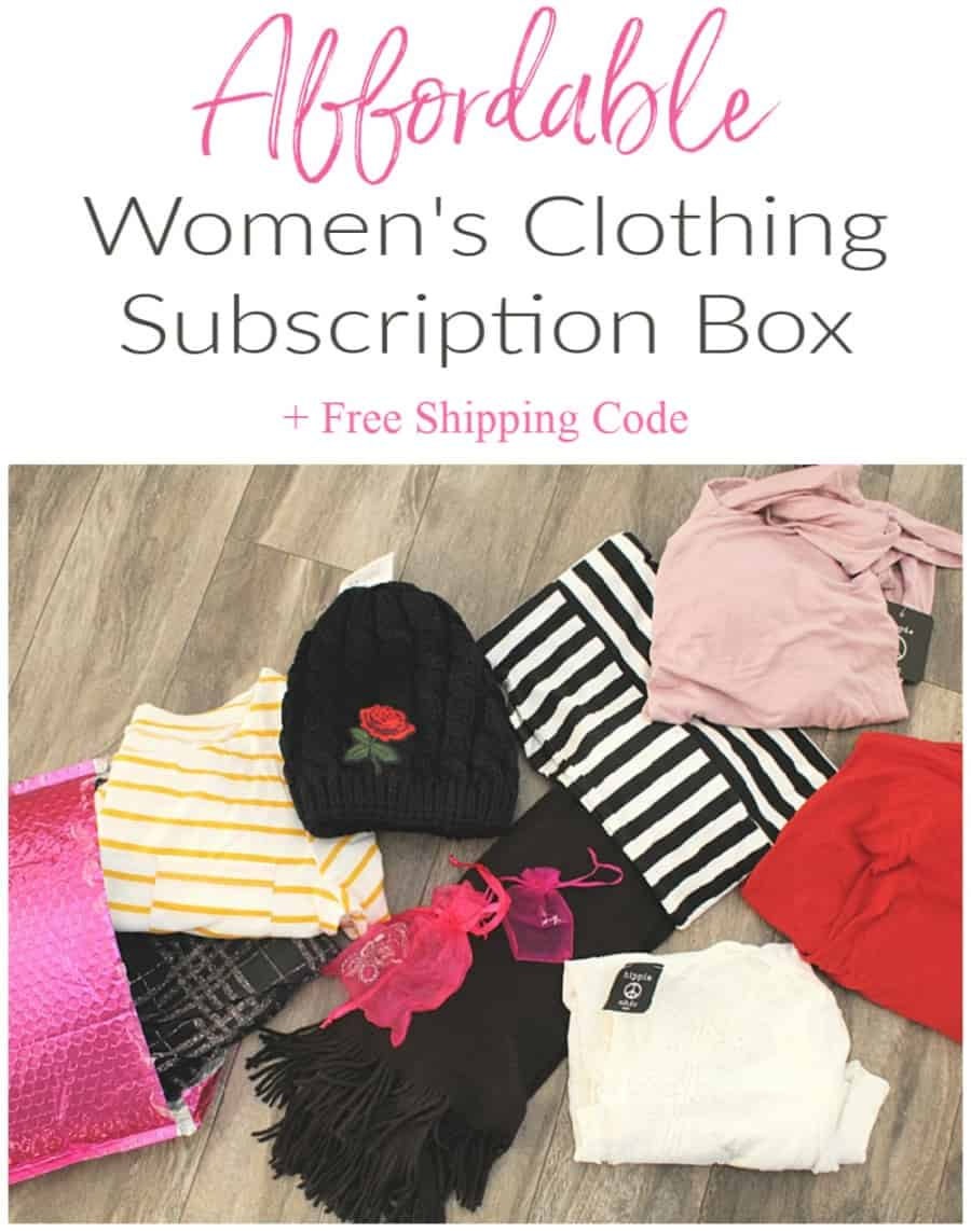 Affordable Womens Clothing Subscription Box