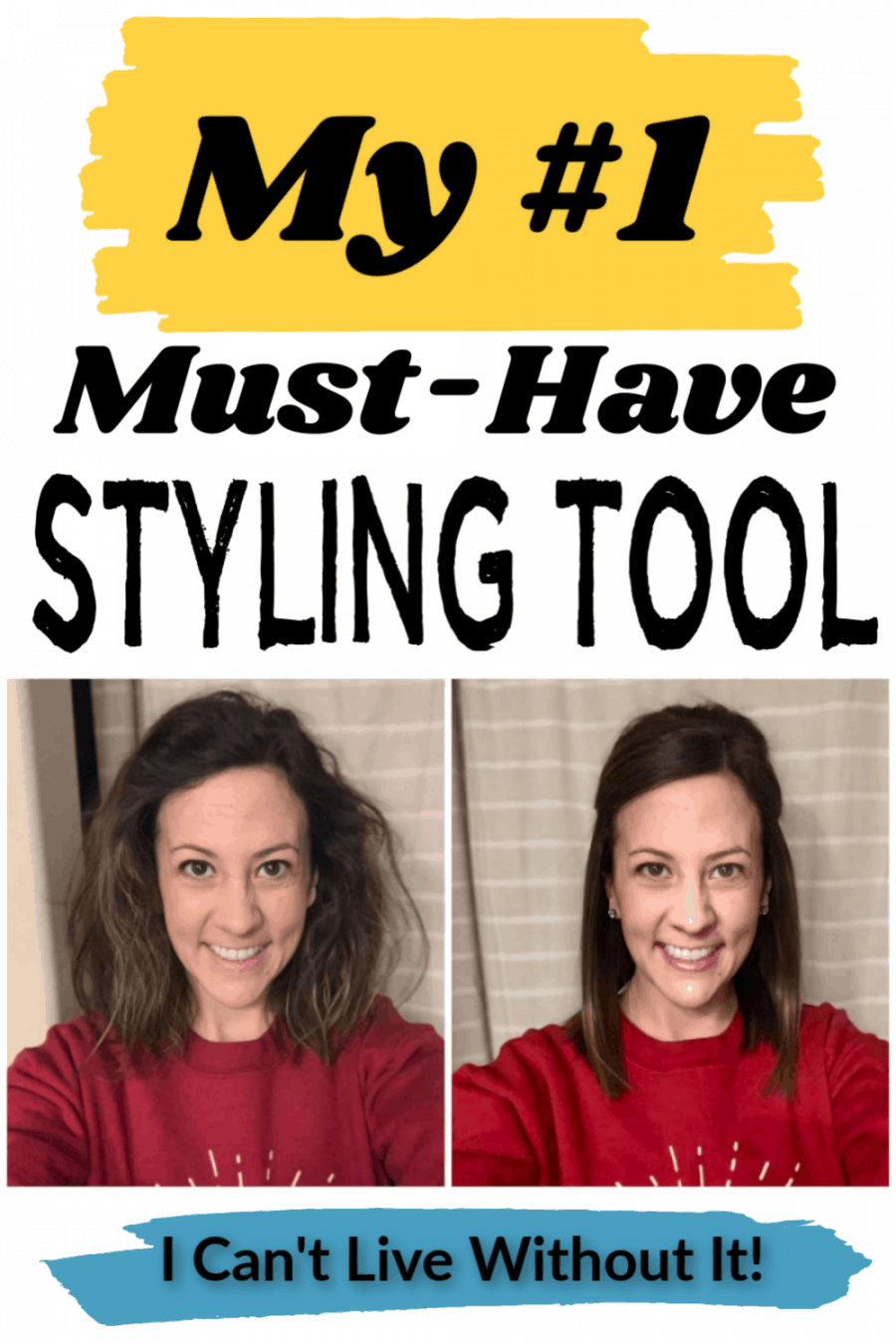 My #1 must have hair styling tool