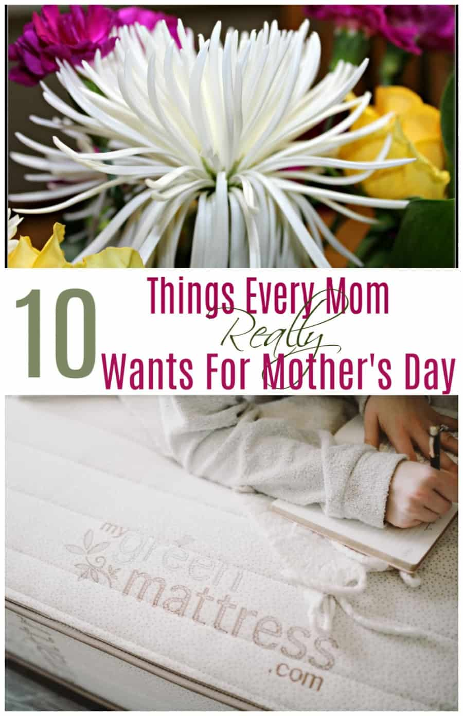 10 Things Every Mom REALLY Wants For Mother's Day