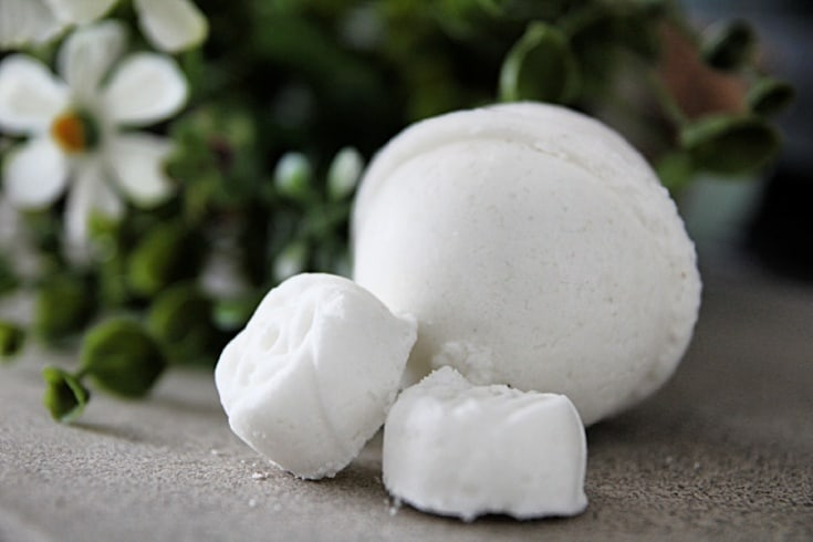 All Natural Homemade Bath Bomb Recipe