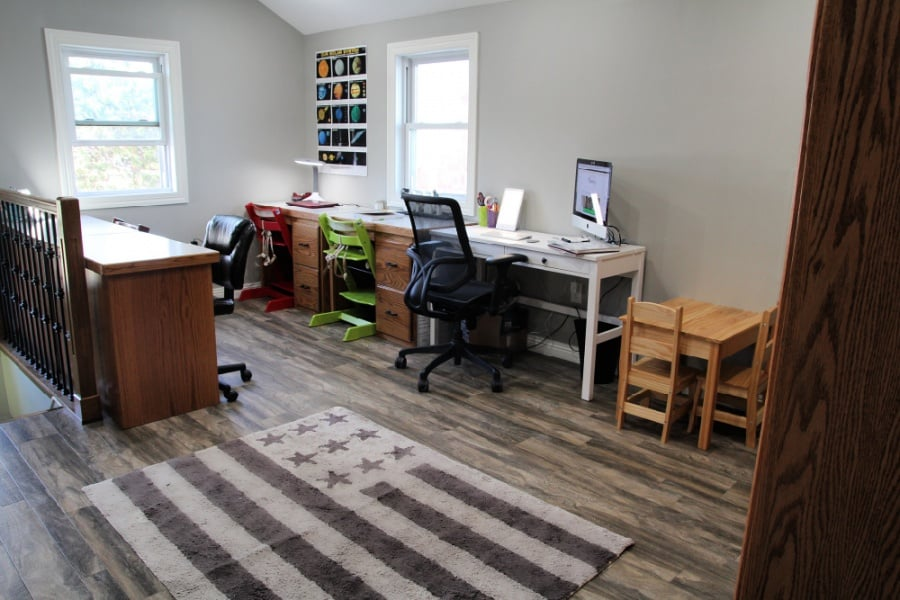 Cost Of A Home Office Remodel {+ Verilux HappyLight Touch Review}