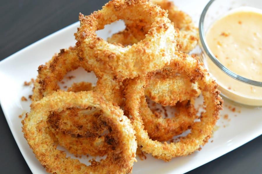 air fryer onion rings recipe