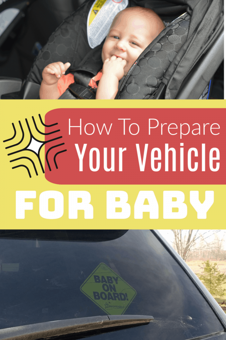 How to prepre your vehicle for baby