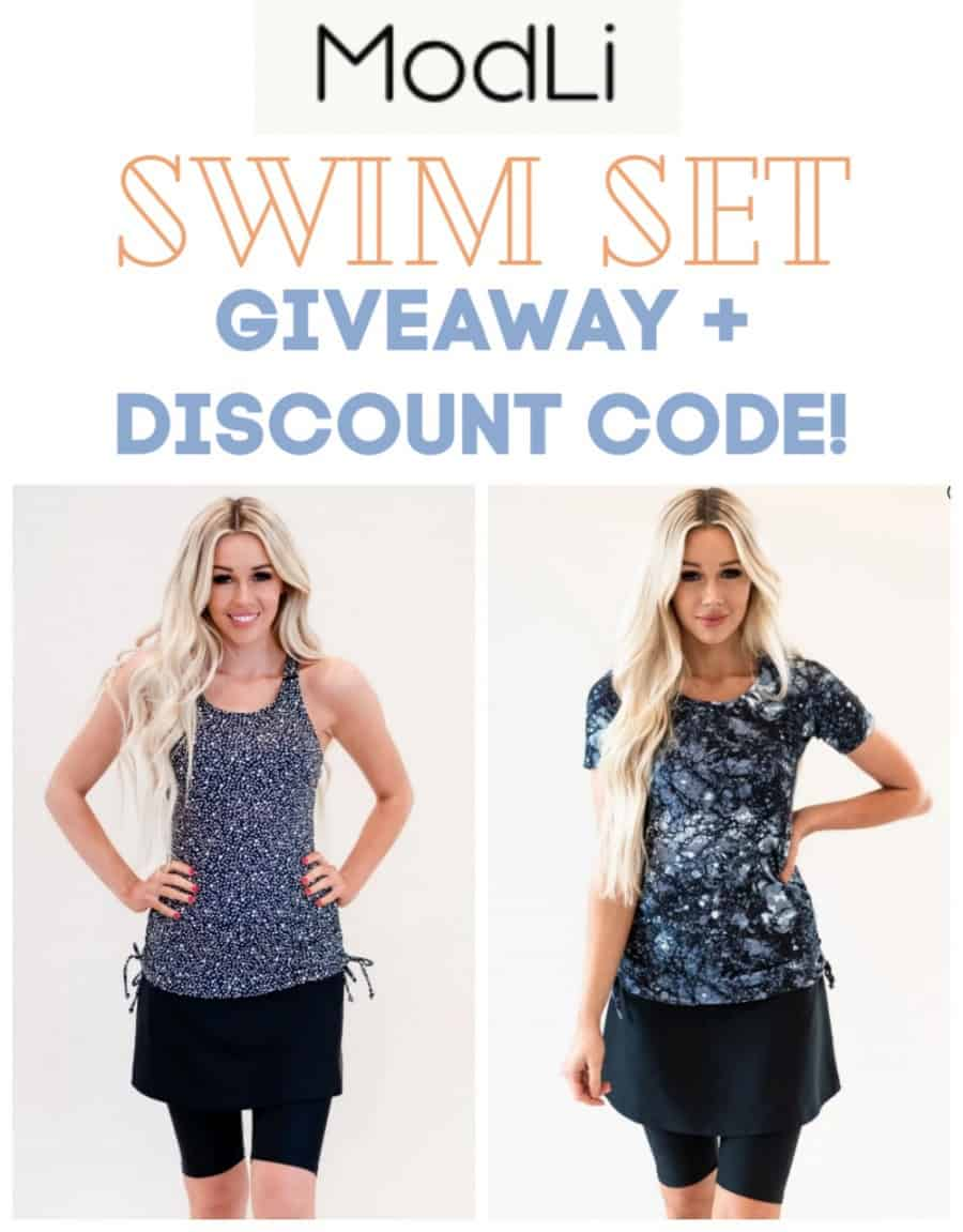ModLi Swim Set / Swimsuit Giveaway + Discount